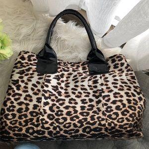 Handbags - Cheetah print weekender bag